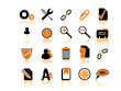 Set of 20 (twenty) computer's icons