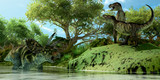 Fototapety T-Rex Defiance