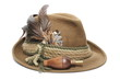 hunting hat and game call