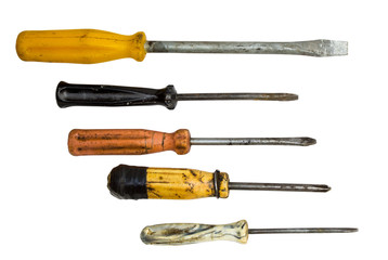 Set of screwdrivers