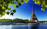 Fototapety Seine in Paris with Eiffel tower