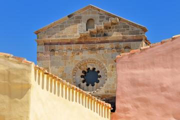 Sardegna - antica Chiesa di Tratalias - Sulcis