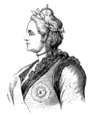 Russian Empress - Catherine II
