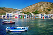 colors of Greece series - Milos island with traditional houses