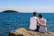 Couple and horizon