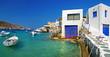 Milos - peaceful traditional greek island