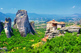 Meteora monasteries, travel in Greece series