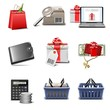 shopping vector icon set part 4
