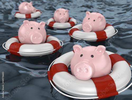 rettung der Ersparnisse