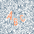 Seamless sketch type background, vector illustration, EPS10