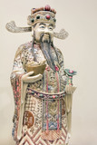 Prosperity Money God Ivory Carving Closeup
