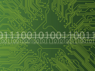 circuit board and binary code