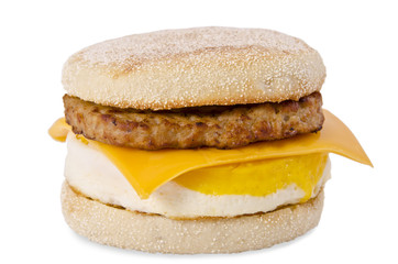 Sausage Egg and Cheese Breakfast