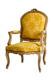 luxury Yellow Armchair