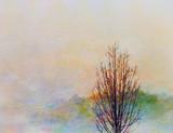 Fototapety Autumn Landscape Painting