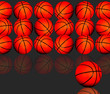������, ������: Basketballs with room for your type