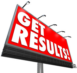 Get Results Billboard Advertisement Promise Effective Plan