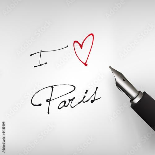 I love Paris