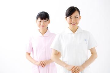 看護婦二人