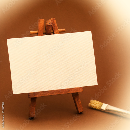 Small Painter Canvas