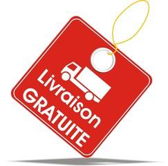 étiquette livraison gratuite