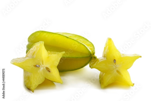 yellow fruits of carambola