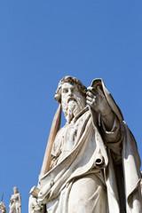 Roman sculpture infront of Vatican city