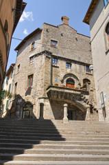 Poscia Palace. Viterbo. Lazio. Italy.