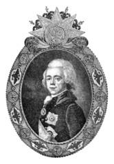 Russian Aristocrat - Paul the 1st - 18th century