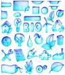 icônes bio-eco 1