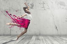 Flüssige Dancer