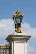 Royal street lamp in Buckingham Palace