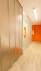 Dental clinic corridor