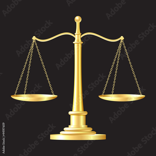 gold scales icon