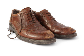 Brogues, Mens Shoes Brown Old