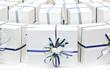 pacchetti nastro blu