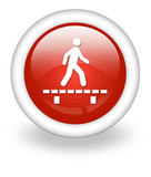"Light Red Icon ""Walk On Boardwalk"""