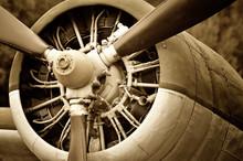 Retro technology, aircraft engine