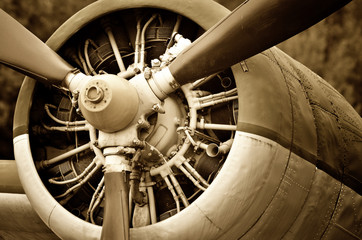 Retro technology, aircraft engine