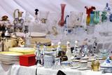 Brocante Faïences, vaisselle et cristal