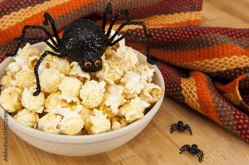 Halloween Popcorn Snack
