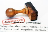 Loan and tax provisions poster