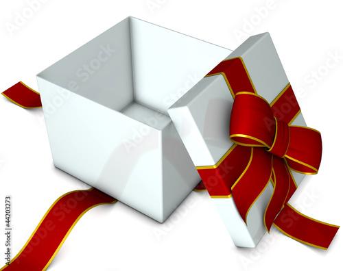 Geschenk offen