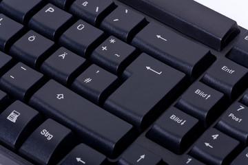 Detail Computertastatur