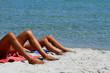 Tintarella in spiaggia