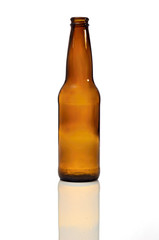bottiglia birra marrone