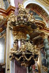 Kanzel in der Universitätskirche