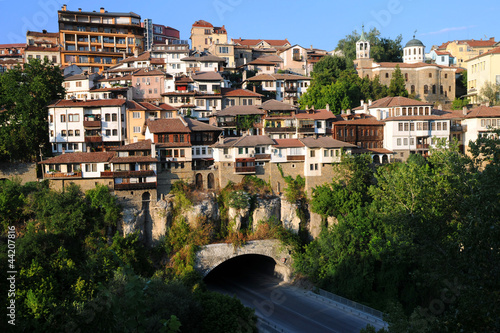 Veliko Tarnovo at Sunset