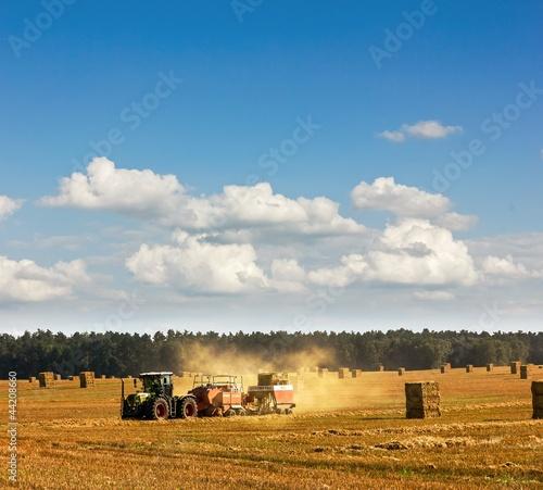 Fototapeten,traktor,weizen,feld,landwirtschaft