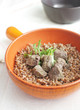 Buckwheat with liver pieces